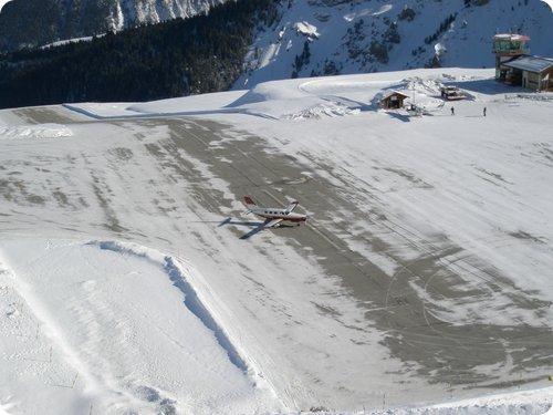 aerodromo courcheval francia