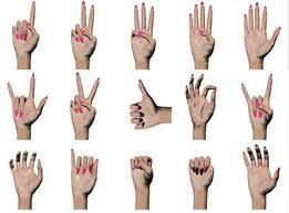 gesti di mani