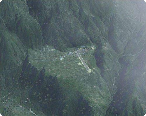 aeroporto di lulka, nepal