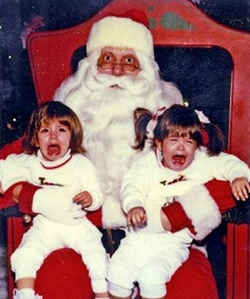 I peggiori Babbo Natale che spaventano i bambini