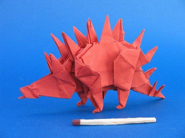 origami dinosauro