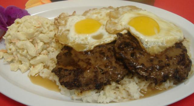 piatto hawaiano loco moco