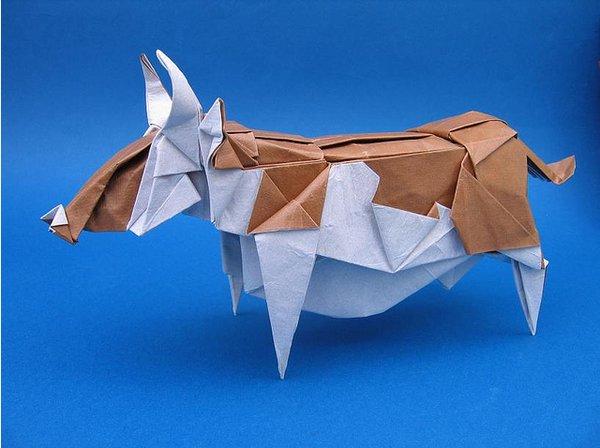 origami mucca