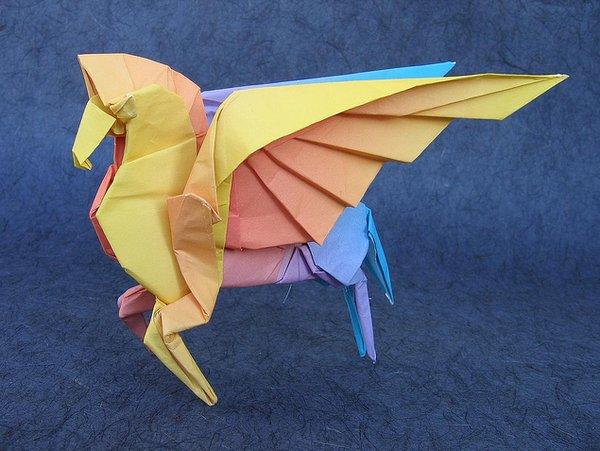 origami pegaso