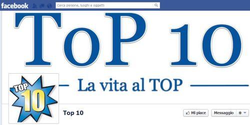 Facebook top10