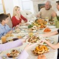 Cena di famiglia Natale