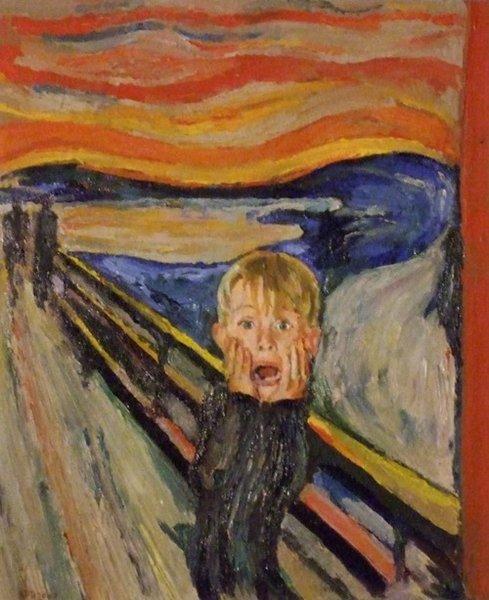 Top 10 delle parodie del «L'urlo» di Edvard Munch