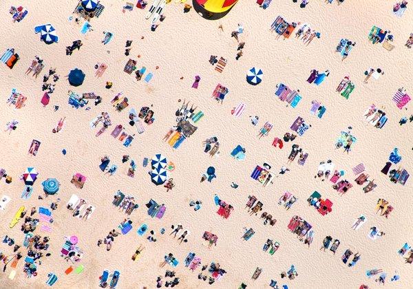 Top 10 delle più belle foto di spiagge viste dall'alto