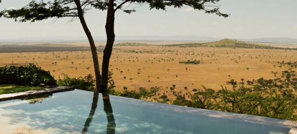 piscina dell'hotel Singita Grumeti Reserve (Tanzania)