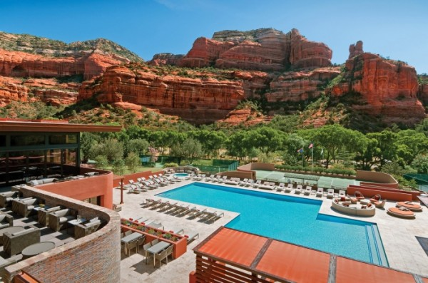 piscina dell'hotel Enchantment Resort (Arizona)