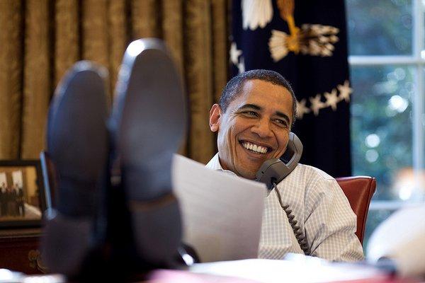 obama in ufficio