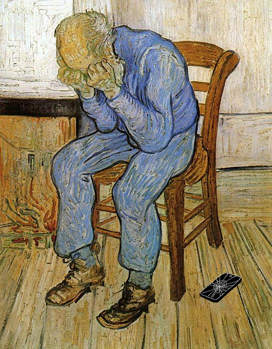 vangogh iphone rotto