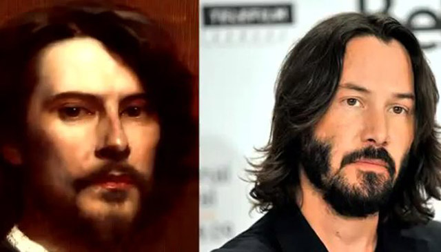 Keanu Reeves-sosia