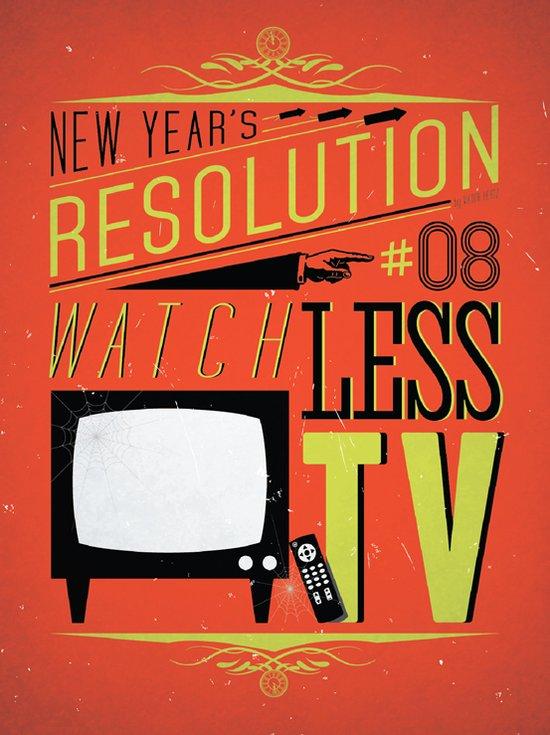guardare meno tv - risoluzione
