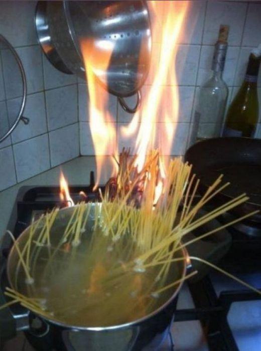 pasta al fuoco