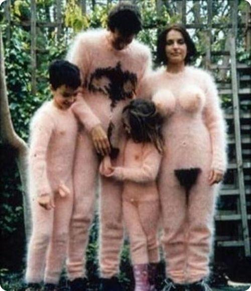 fot di famiglia paurosa