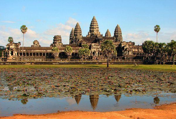 Angkor_Wat in Cambogia